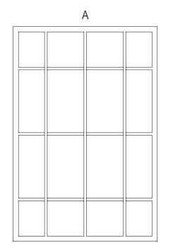 Fenstergitter Fix Muster A