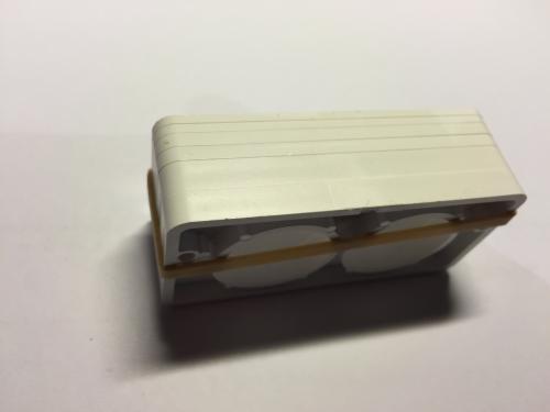 Schließklobenunterlagen weiß für PR2700/PR2600
