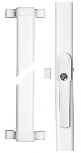 ABUS FOS550A Fenster-Stangenschloss mit Alarm inkl. Stangenset DIN 18104-1 geprüft|VdS anerkannt|