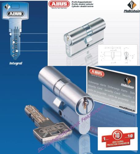 ABUS Integral J5 Doppelzylinder