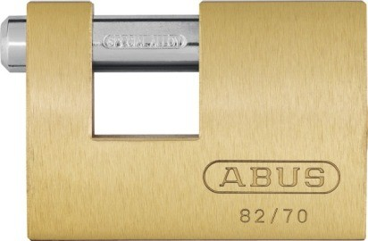ABUS Monoblock Vorhangschloss 82/70