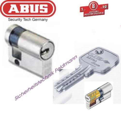 ABUS Halbzylinder nach EC750/850 Musterschlüssel hergestellt