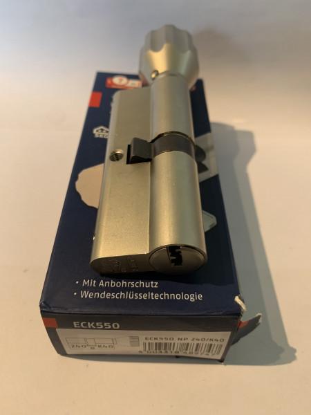 ABUS ECK550 Z40/K40mm mit 6 Schlüssel, #SALE 97