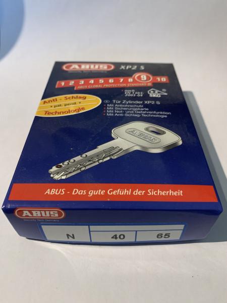 ABUS XP2S 40/65mm mit 3 Schlüssel, Einzelschließend #SALE 12