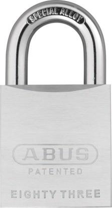 ABUS C-Serie Vorhängeschloss 83/50
