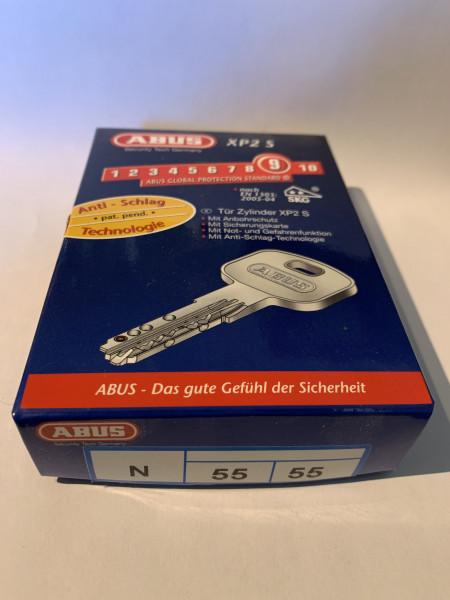ABUS XP2S 55/55mm mit 3 Schlüssel, Einzelschließend #SALE 63