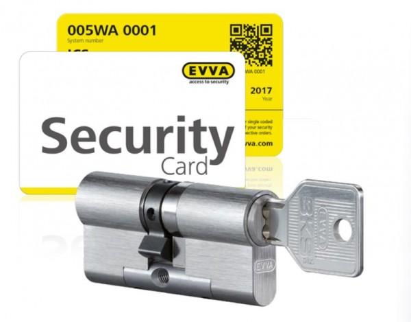 EVVA 3KS (plus) Werks-Nachschlüssel NA, NB, WA