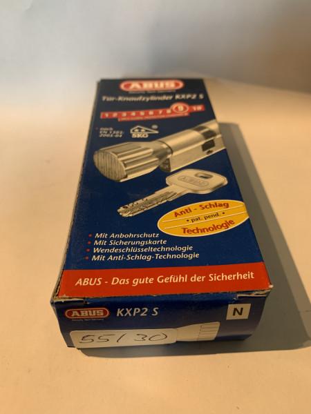 ABUS KXP2S Z55/K30mm mit 3 Schlüssel, Einzelschließend #SALE 34