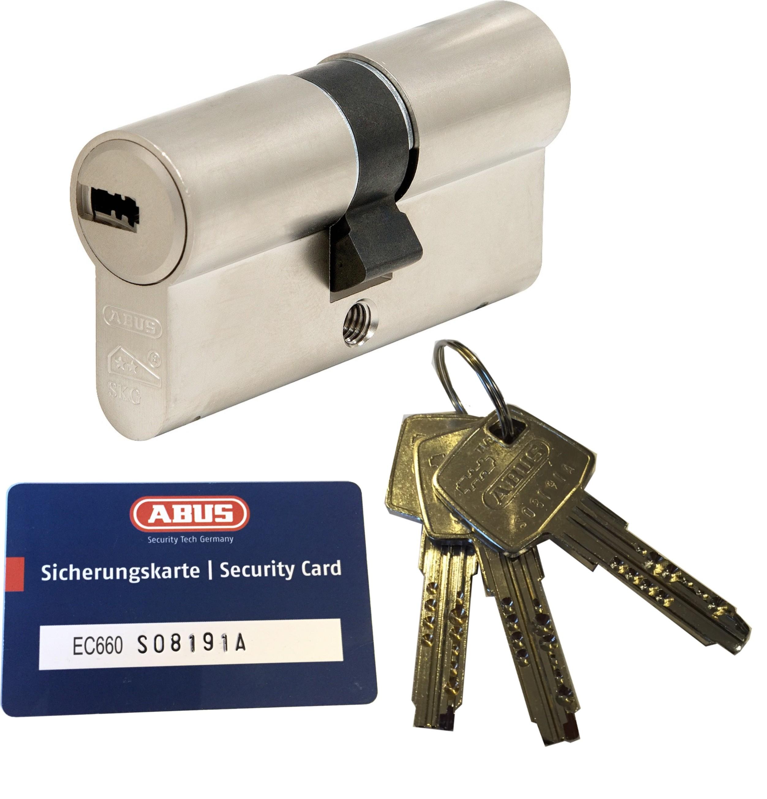 ABUS Bravus3000 Sicherheits-Schließzylinder Doppelzylinder 35//35mm Individual