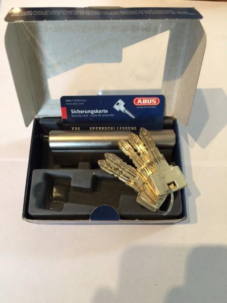 ABUS Integral J6, Länge 30/70mm, VdSB geprüft, mit Not-und Gefahrenfunktion und 5 Schlüssel SALE
