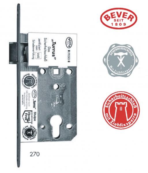 BEVER-270P Turrus 72/55mm, VdS-geprüft, mit Ziehfixsperre