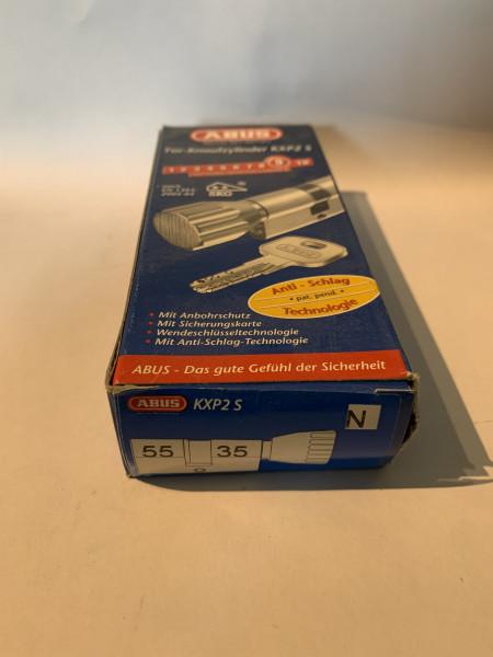 ABUS KXP2S Z55/K35mm mit 3 Schlüssel, Einzelschließend #SALE 33