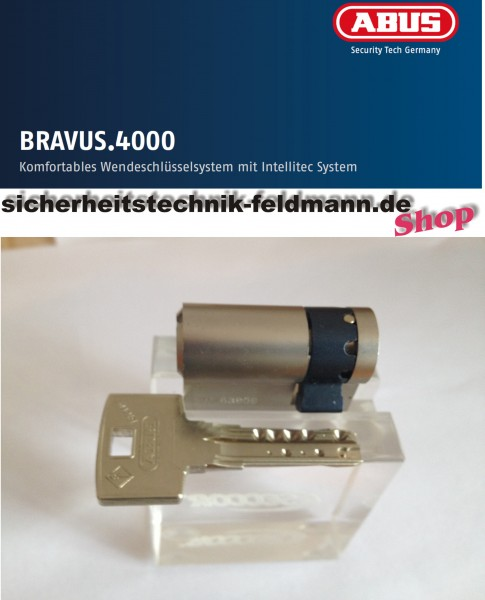 ABUS Bravus4000 Halbzylinder