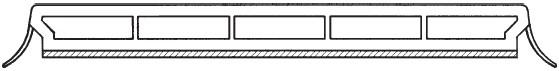 Profil E3 weiß RAL 9016
