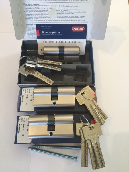 ABUS Bravus3000 3er Set 30/30mm gleichschließend Sale