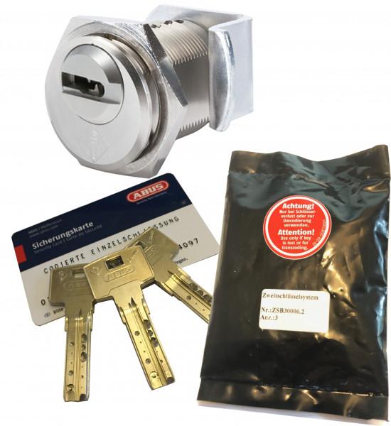 ABUS Bravus3000 2in1 Hebelzylinder D=24mm Individual