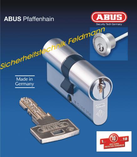 ABUS Integral J6 Aussenzylinder rund D=28mm für Kastenschlösser