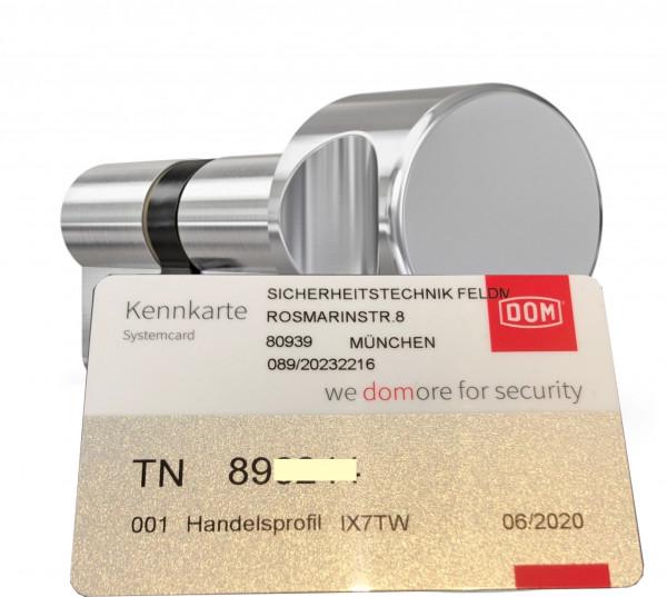 DOM Twido Knaufzylinder nach STF Code TN 89