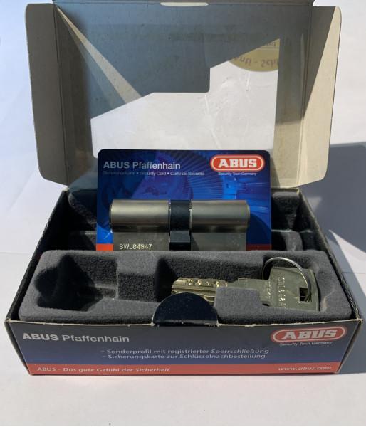 ABUS WavyLine Doppelzylinder 30/30 mit 3 Schlüssel N+G und erh. Bohrschutz #SALE 37
