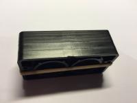 Schließklobenunterlagen schwarz für PR2700/PR2600