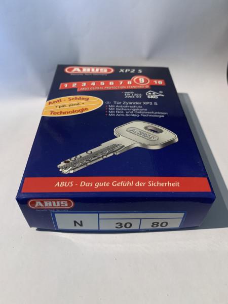 ABUS XP2S 30/80mm mit 3 Schlüssel, Einzelschließend #SALE 14