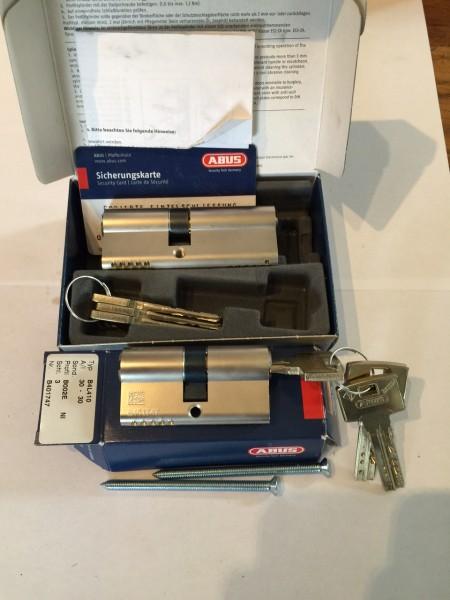ABUS Bravus4000 2er Set 45/35mm und 30/30mm, gleichschliessend mit 6 Schlüssel Sale