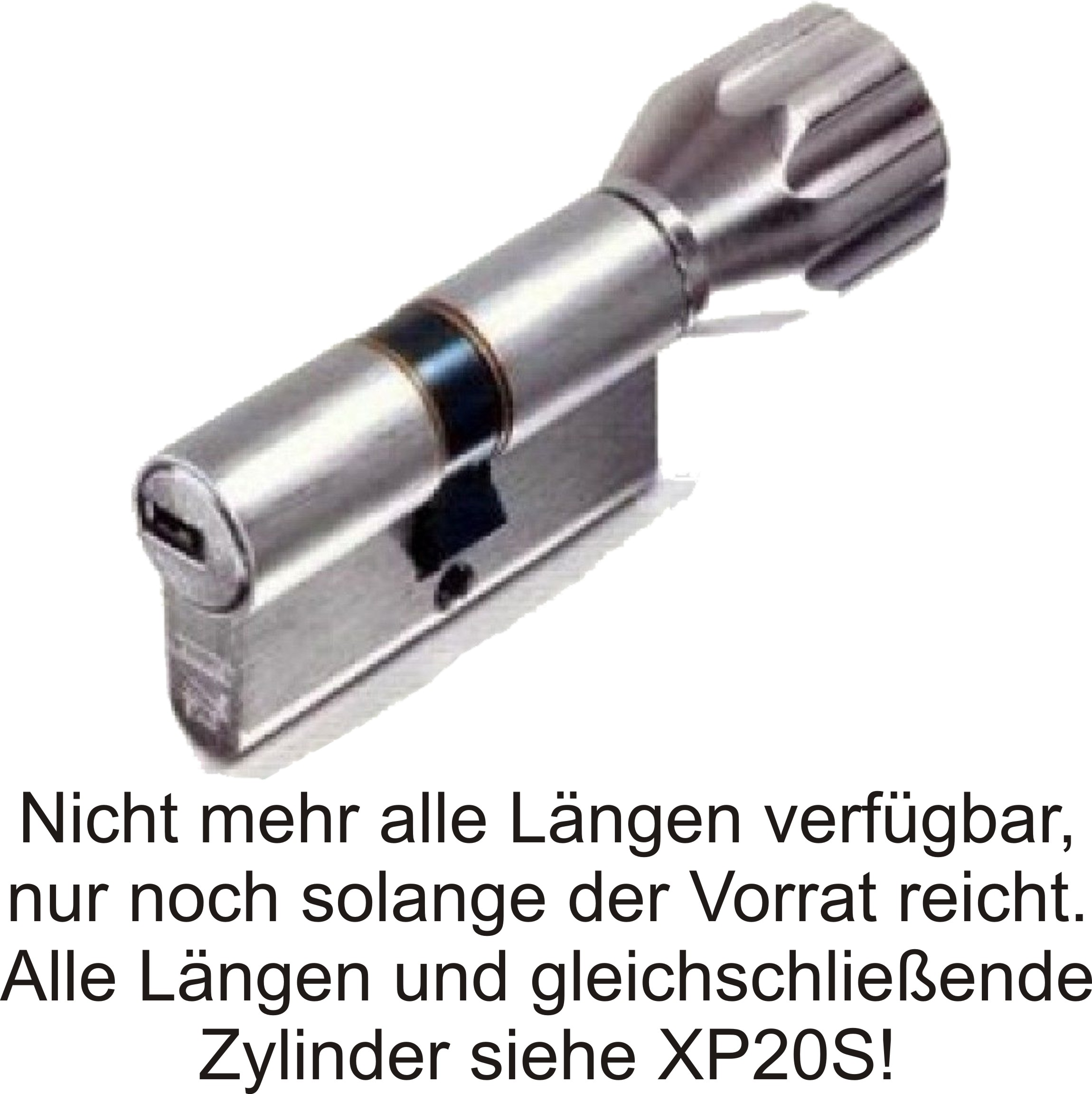 ABUS EC550 ECK550 Knaufzylinder Schließzylinder Z55//K45mm mit 3 bis 10 Schlüssel