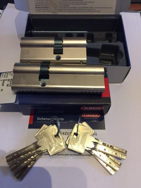 ABUS Bravus3000 2er Set 30/40mm + 30/60mm gleichschließend Sale