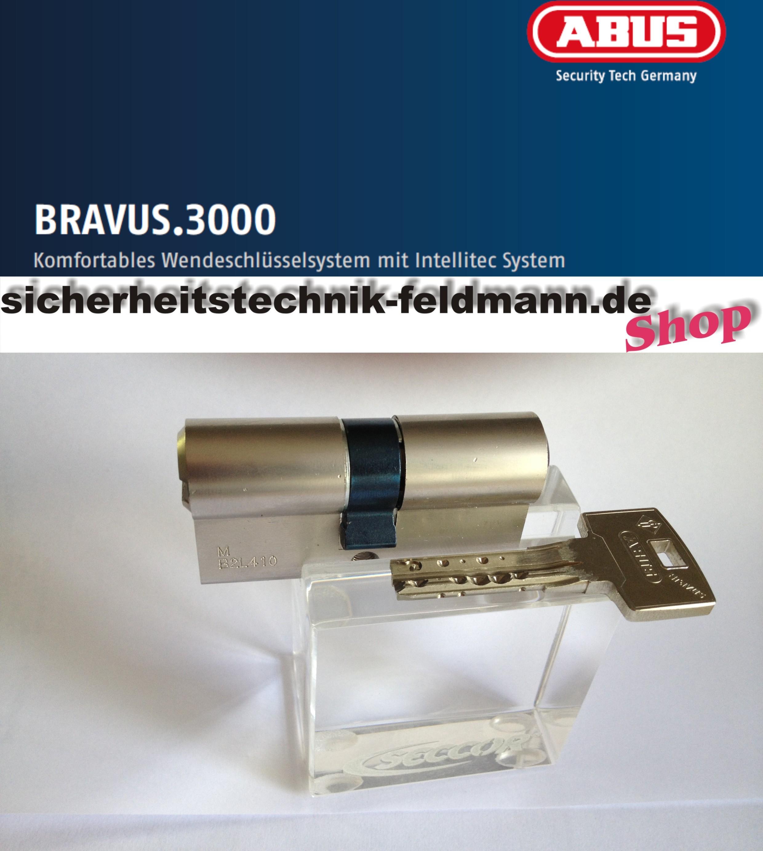 abus bravus3000 doppelzylinder sicherheitstechnik f r. Black Bedroom Furniture Sets. Home Design Ideas