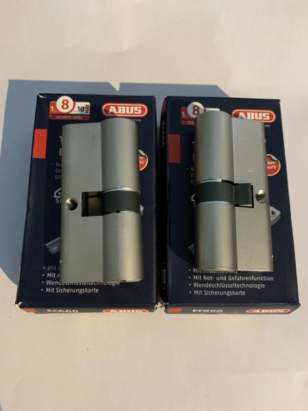 ABUS EC660 30/35mm + 30/35 gleichschliessend mit 6 Schlüssel, #SALE 267