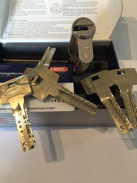 ABUS Bravus4000 35/35mm GB mit 5 Schlüssel Sale-Copy