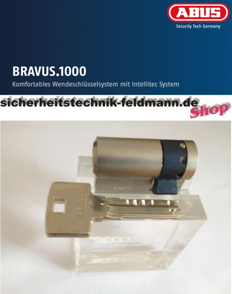 ABUS Bravus1000 Halbzylinder