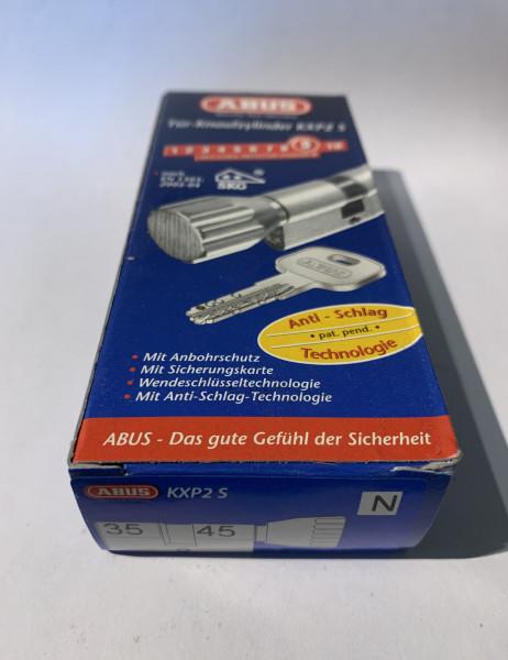 ABUS KXP2S Z35/K45mm mit 3 Schlüssel, Einzelschließend #SALE 20