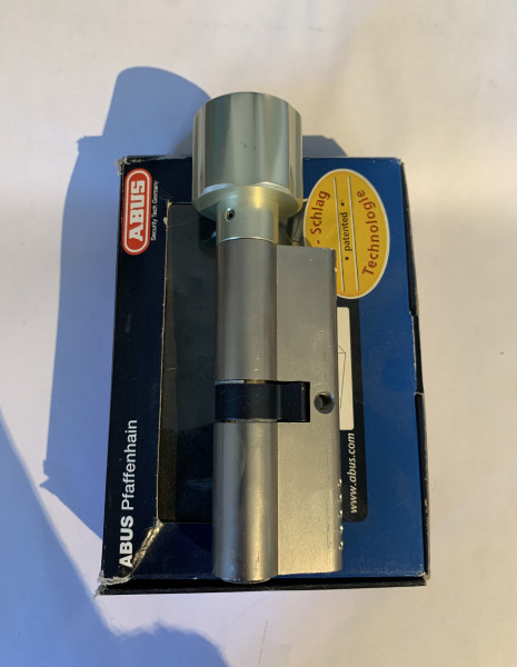 ABUS WavyLine Pro Knaufzylinder 40/K40mm mit 3 Schlüssel mit erh. Bohrschutz #SALE 195