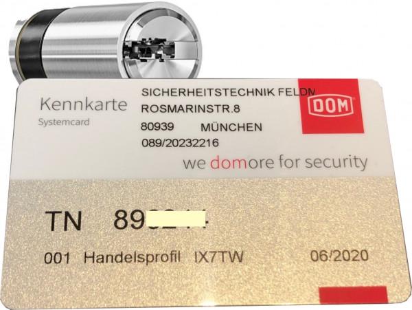 DOM Twido Halbzylinder nach STF Code TN 89