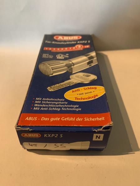 ABUS KXP2S Z45/K55mm mit 3 Schlüssel, Einzelschließend #SALE 31