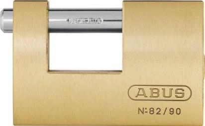 ABUS Monoblock Vorhangschloss 82/90
