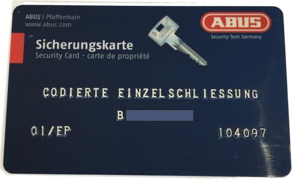 ABUS Bravus Knaufzylinder nach STF Code