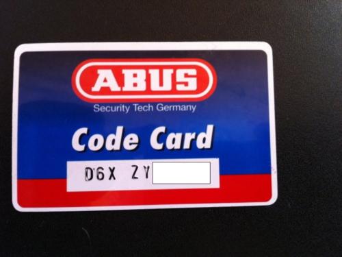 ABUS D6X Halbzylinder nach Code ZY hergestellt