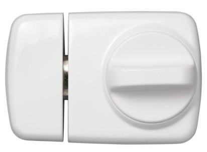 ABUS Tür-Zusatzschloss 7510 extra schmal mit V14 5 Zylinder