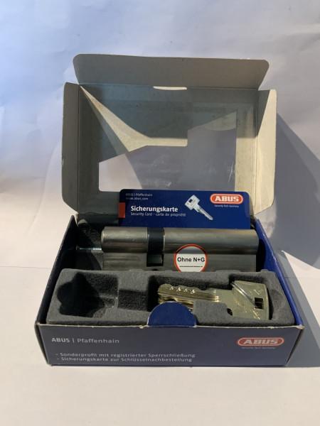 ABUS WavyLine Pro Doppelzylinder 30/60mm mit 3 Schlüssel ohne N+G, erh. Bohrschutz #SALE 39