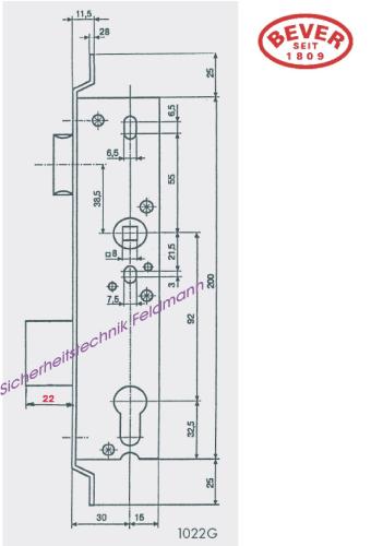 g tz 29 1022g sicherheitstechnik f r haus b ro g nstig kaufen online shop m nchen mit. Black Bedroom Furniture Sets. Home Design Ideas