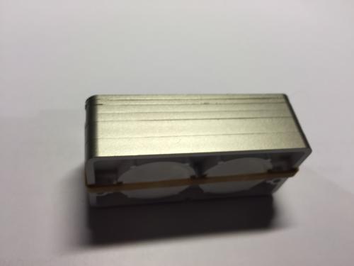 Schließklobenunterlagen silber für PR2700