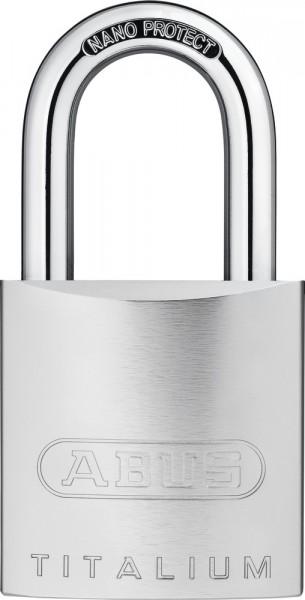 ABUS Vorhangschloss 86TIIB45 TITALIUM™ ohne Zylinder mit INOX Bügel