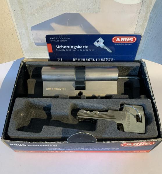 ABUS WavyLine Pro Doppelzylinder 35/35mm mit N+G und 3 Schlüssel #SALE 207