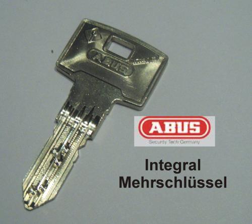 Integral J6 Nachschlüssel zu Sperrschliessung