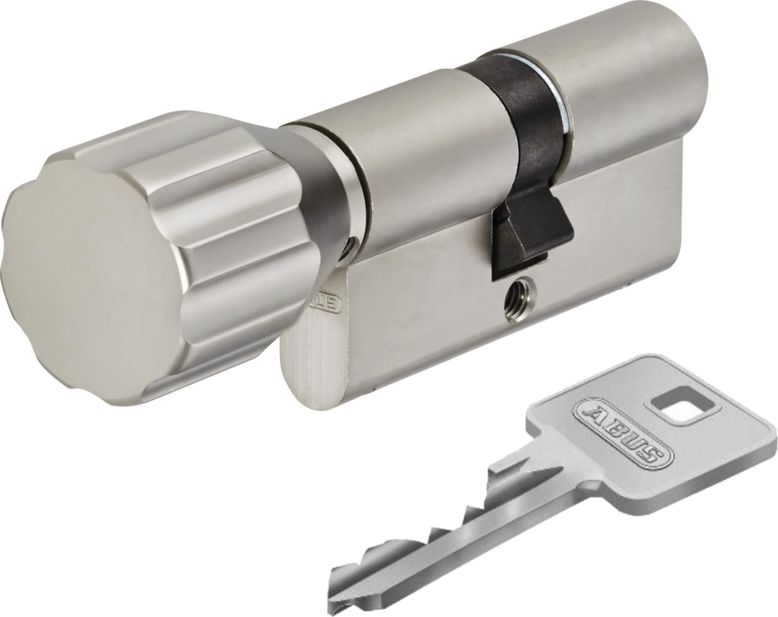 ABUS EC550 ECK550 Knaufzylinder Schließzylinder Z60//K45mm mit 3 bis 10 Schlüssel