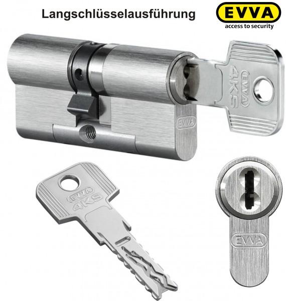 EVVA 4KS Doppelzylinder mit Langschlüssel