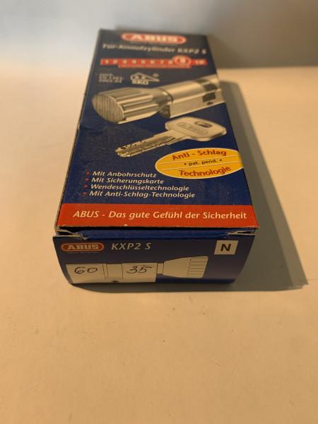 ABUS KXP2S Z60/K35mm mit 3 Schlüssel, Einzelschließend #SALE 36