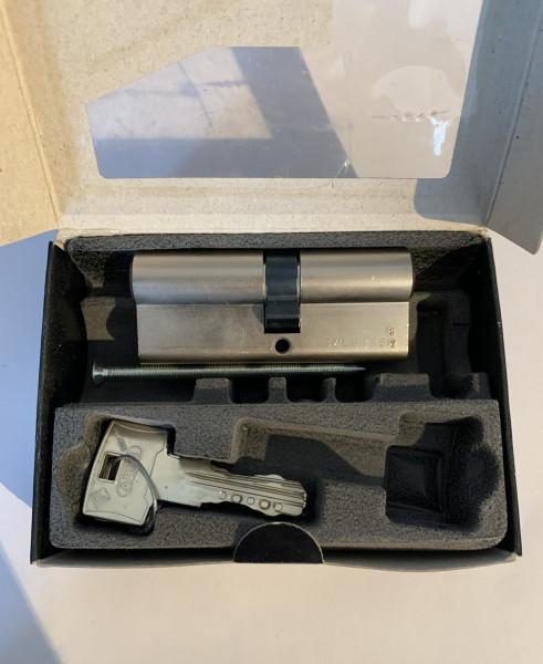 ABUS WavyLine Doppelzylinder 35/40 mit 3 Schlüssel mit N+G #SALE 180